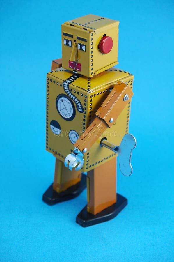Robô do vintage imagens de stock royalty free