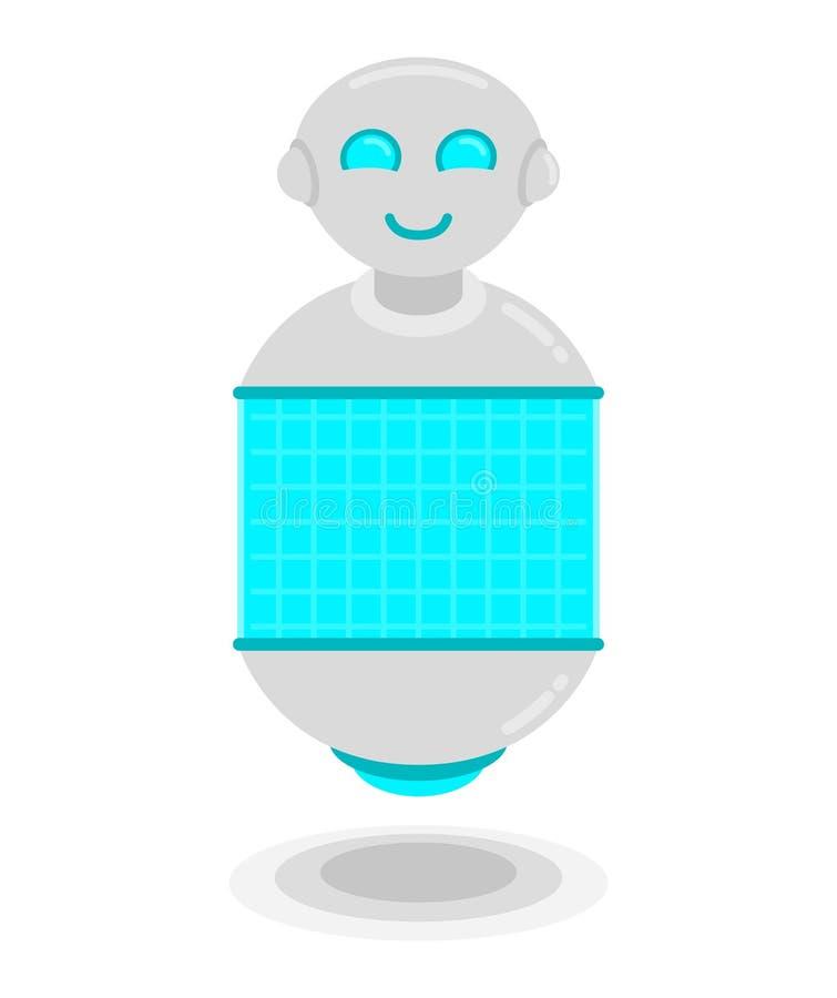 Robô futuro ilustração stock
