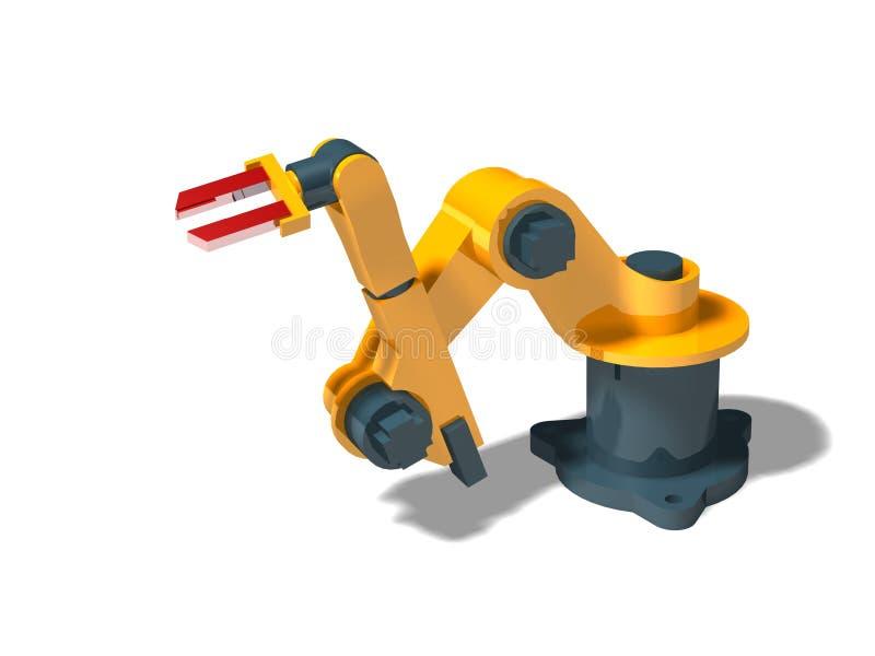 Robô (pose 2) ilustração do vetor