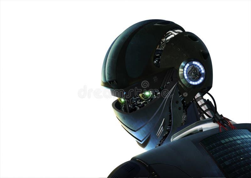 Robô à moda ilustração do vetor