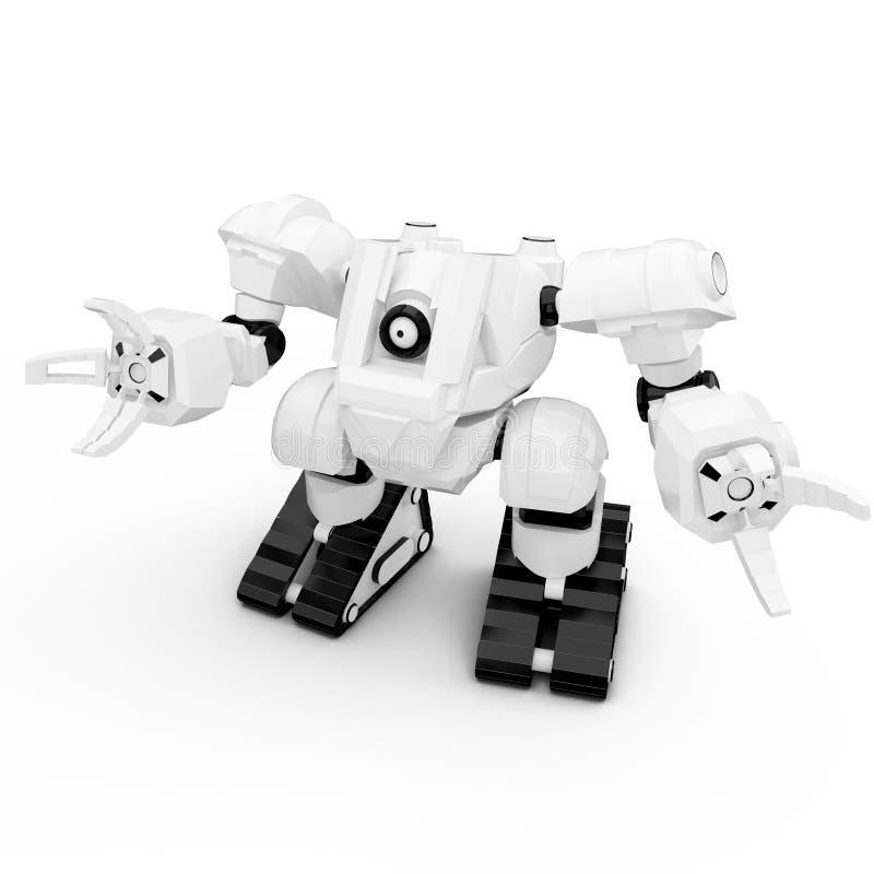 robô 3d ilustração stock