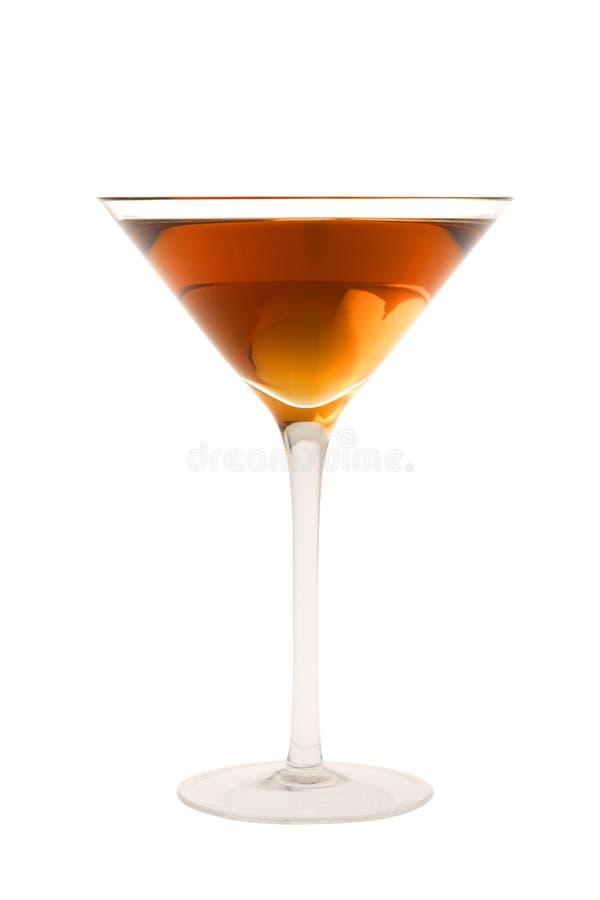 Rob de cocktail van Roy op een witte achtergrond stock foto's
