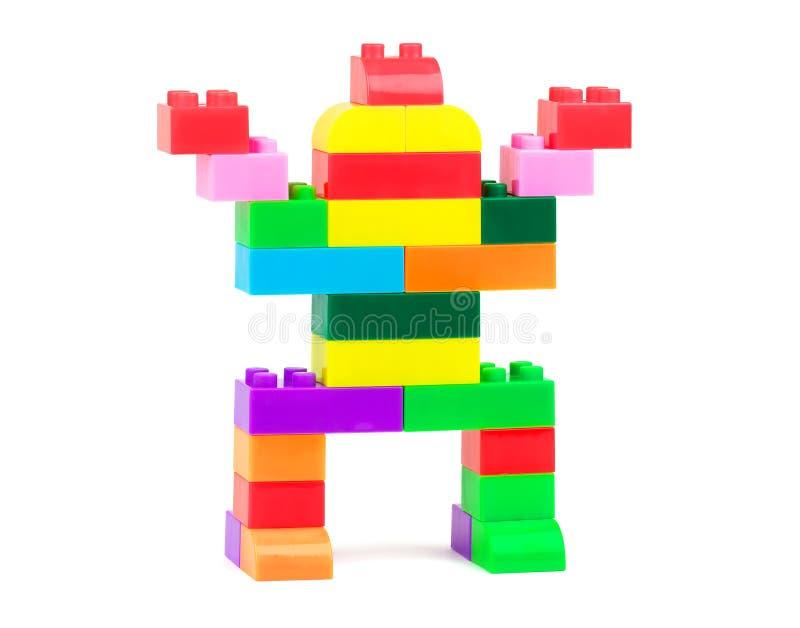 Robô do brinquedo foto de stock