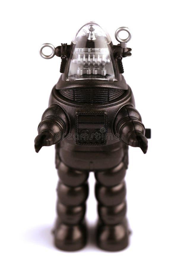 Robô do metal imagem de stock