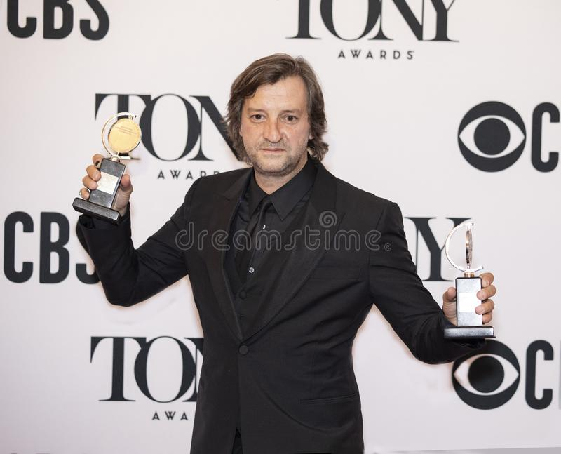 Rob Howell Wins Twice bei Tony Awards 2019 stockfoto
