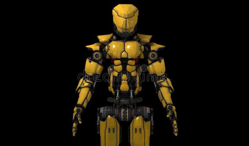 Robô industrial ilustração stock