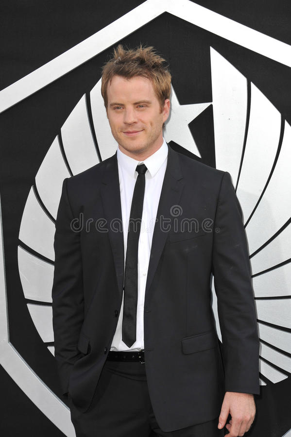 Rob Kazinsky. LOS ANGELES, CA - JULY 9, 2013: Rob Kazinsky at the premiere of his new movie Pacific Rim at the Dolby Theatre, Hollywood stock photos