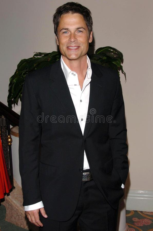 Download Rob Lowe editorial stock photo. Image of lupus, gala - 27213538
