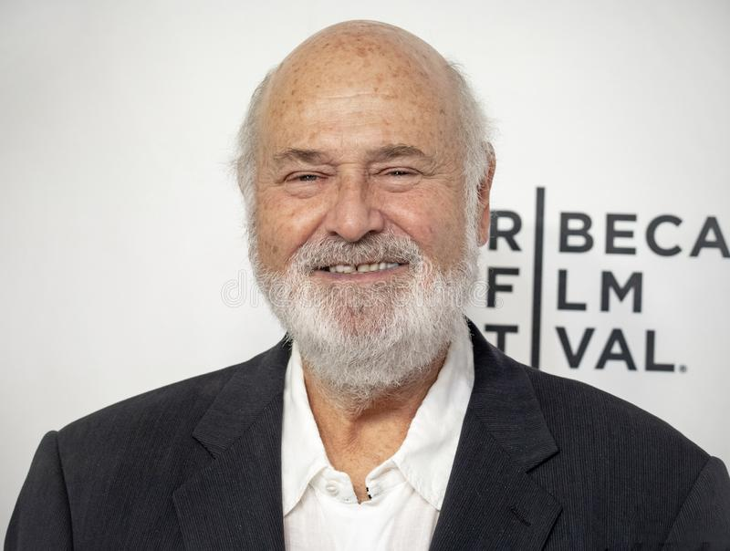 Rob Reiner at 35th Anniversary of THIS IS SPINAL TAP at 2019 Tribeca Film Festival stock image