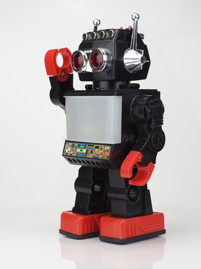 Robô retro do brinquedo foto de stock royalty free