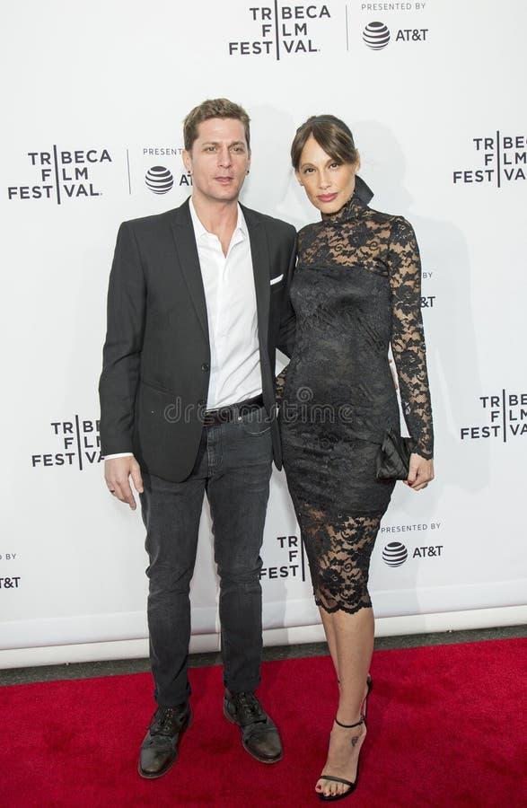 Rob Thomas und Marisol Maldonado lizenzfreie stockbilder