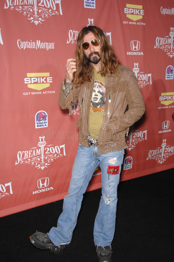 Download Rob Zombie editorial stock image. Image of greak, october - 23976534