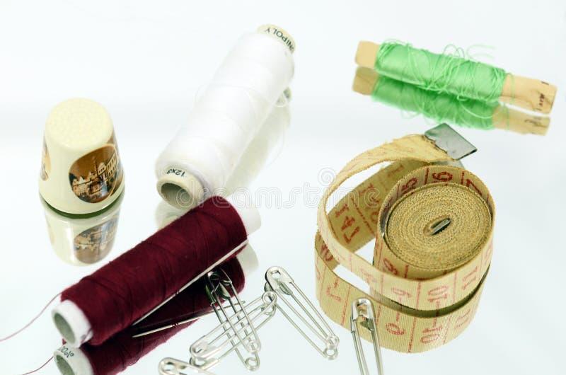 Roba di cucito, compagno dei ladys fotografia stock