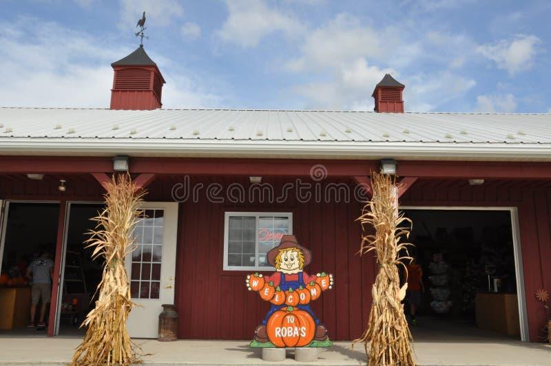 Roba-Familien-Bauernhöfe in Nord-Abington-Gemeinde in Pennsylvania lizenzfreies stockbild