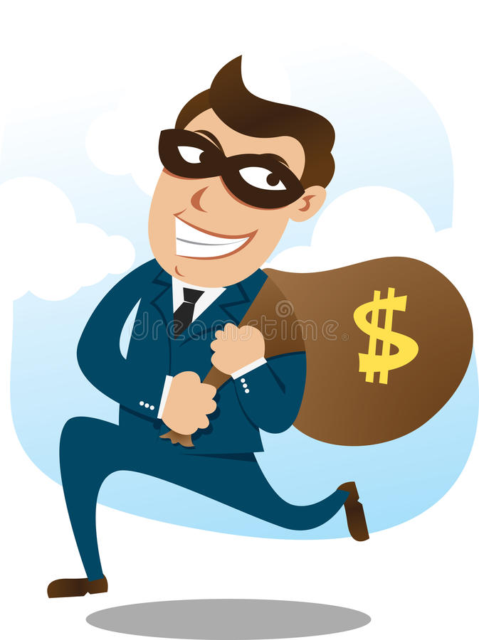 Download Robber stock vector. Image of businessman, business, robbery - 16584927