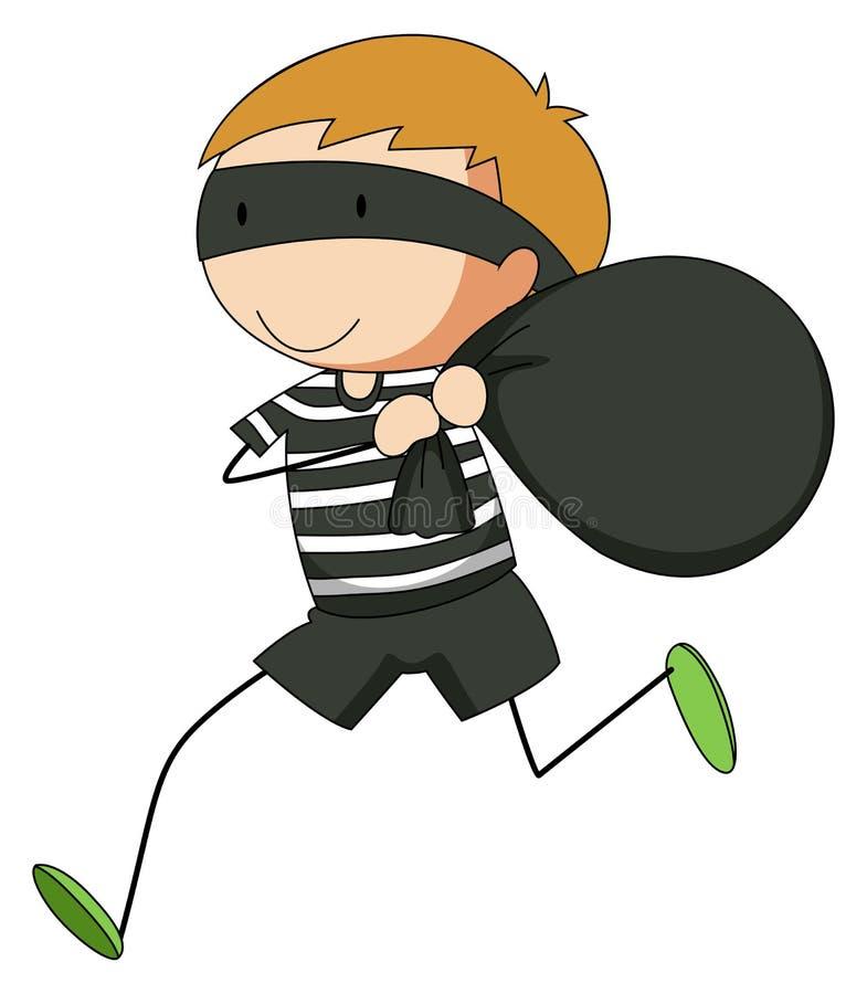 robber stock vector illustration of kids illustration 53327003 rh dreamstime com robber clipart free robbery clip art