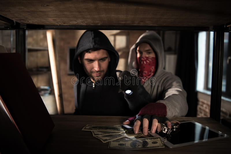 Stealing Money stock photo. Image of grasping, financial ...