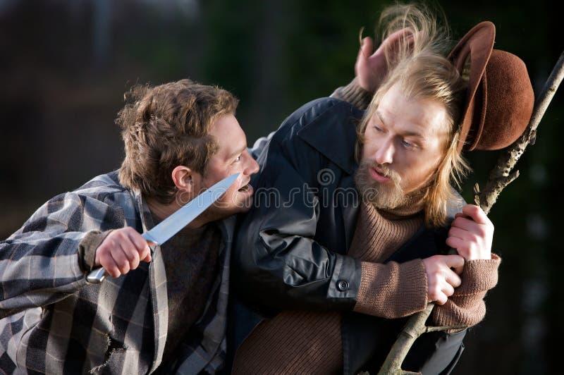 Download Robbery scene stock photo. Image of threatening, thug - 8665260