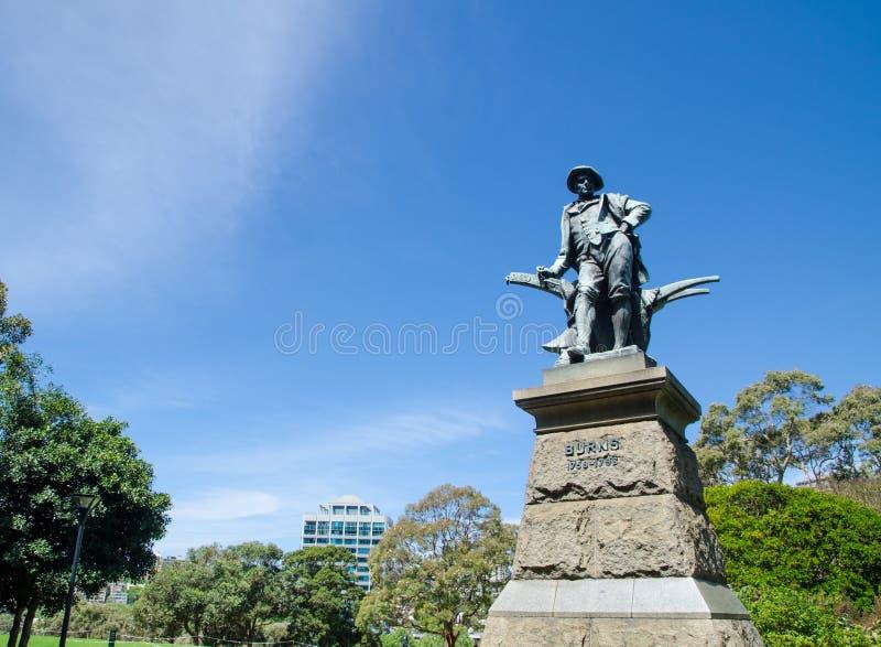 Robbie Pali statuę w domenie i wyprostowywał w 1905, Sydney fotografia royalty free
