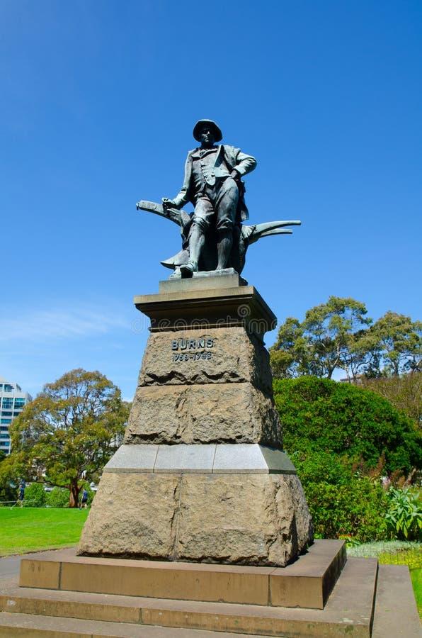 Robbie Pali statuę w domenie i wyprostowywał w 1905, Sydney zdjęcia royalty free