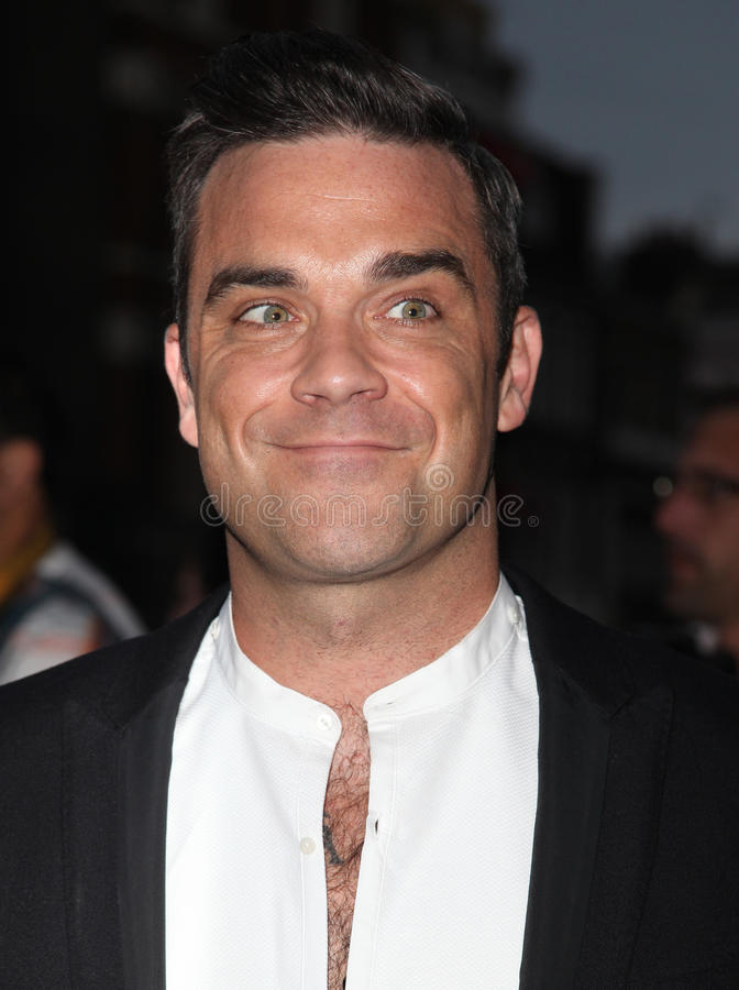 Robbie Williams arkivfoton