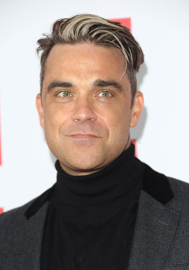 Robbie Williams fotografia stock