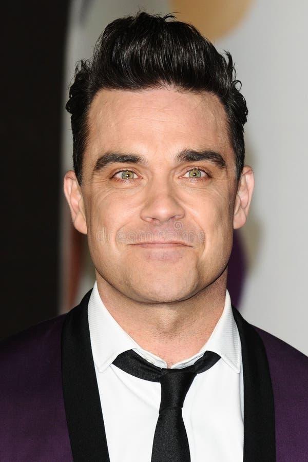 Robbie Williams stock photo