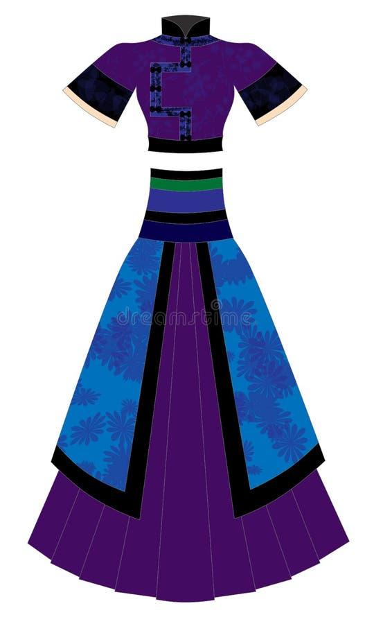 Robe illustration stock
