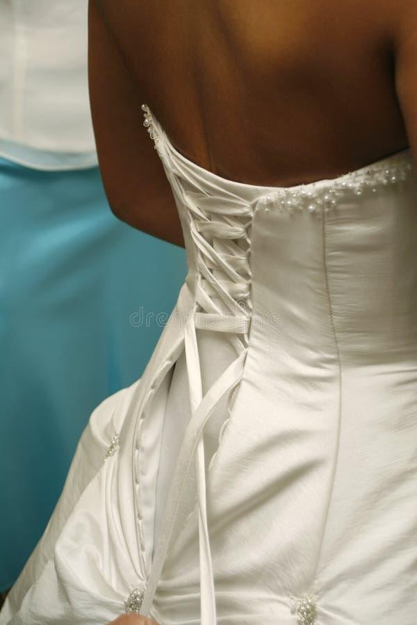Robe de mariage 4 photo libre de droits