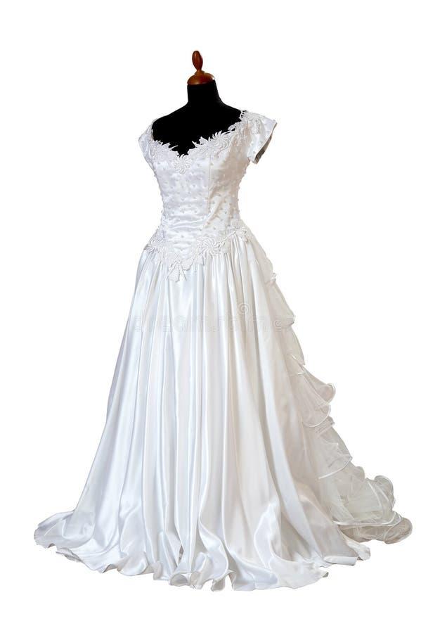 Robe de mariages photographie stock