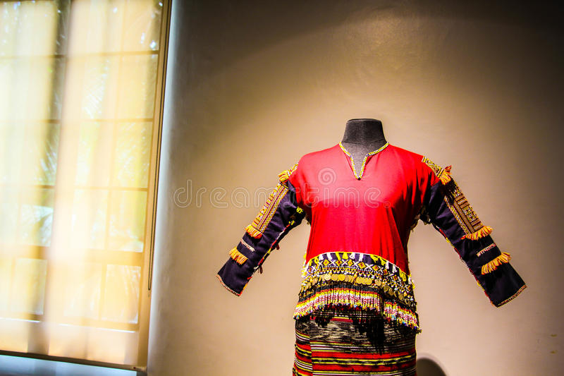 Robe traditionnelle image libre de droits