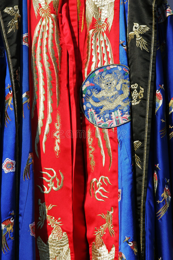 Robe traditionnelle sud-coréenne images stock