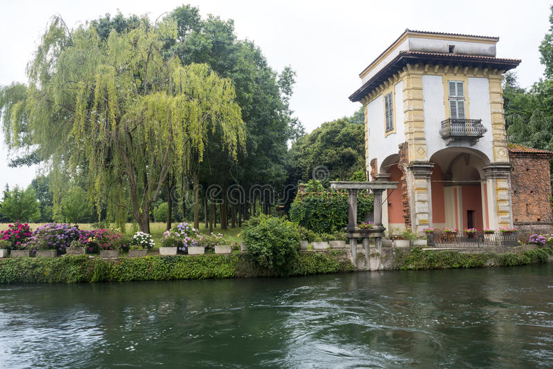 Download Robecco Sul Naviglio, Milan Stock Photo - Image: 43480205
