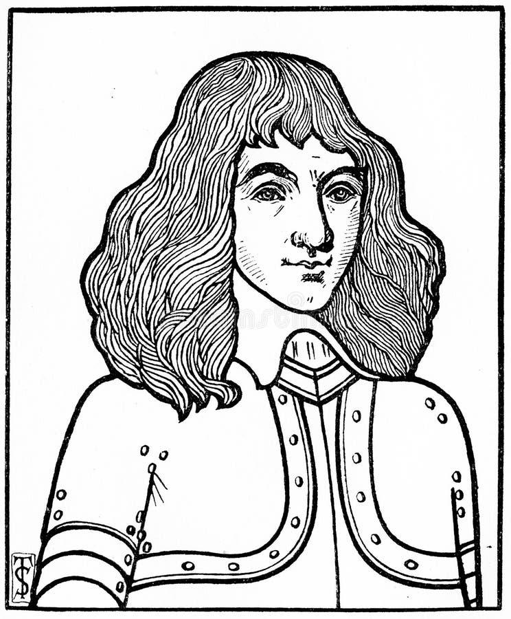 Robert Baillie, minister i Skottlands kyrka arkivbild
