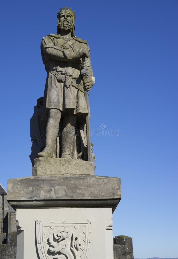 Robert Bruce - Held van Schotland royalty-vrije stock afbeelding