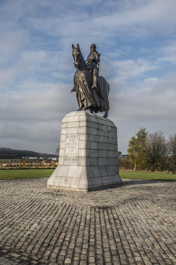 Robert The Bruce King of Scotland royalty free stock photography