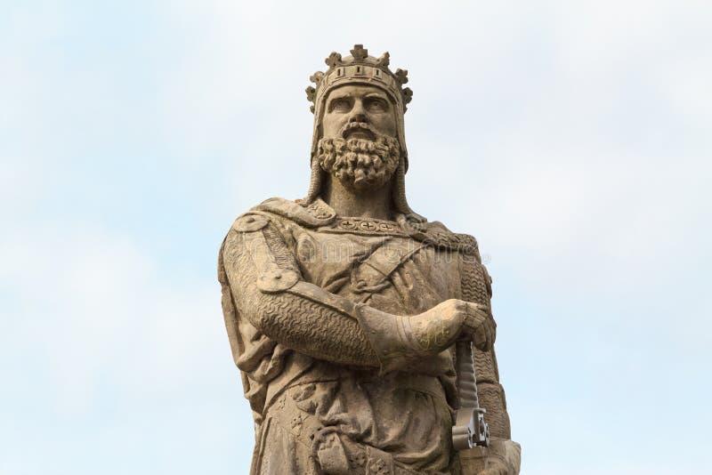 Robert Bruce, Koning van Scots royalty-vrije stock afbeelding