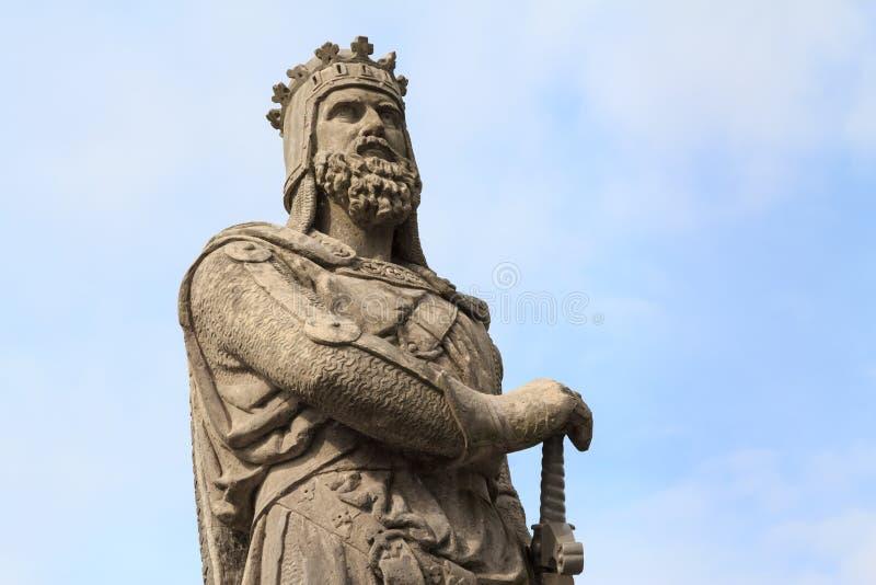 Robert Bruce, Koning van Scots stock afbeeldingen
