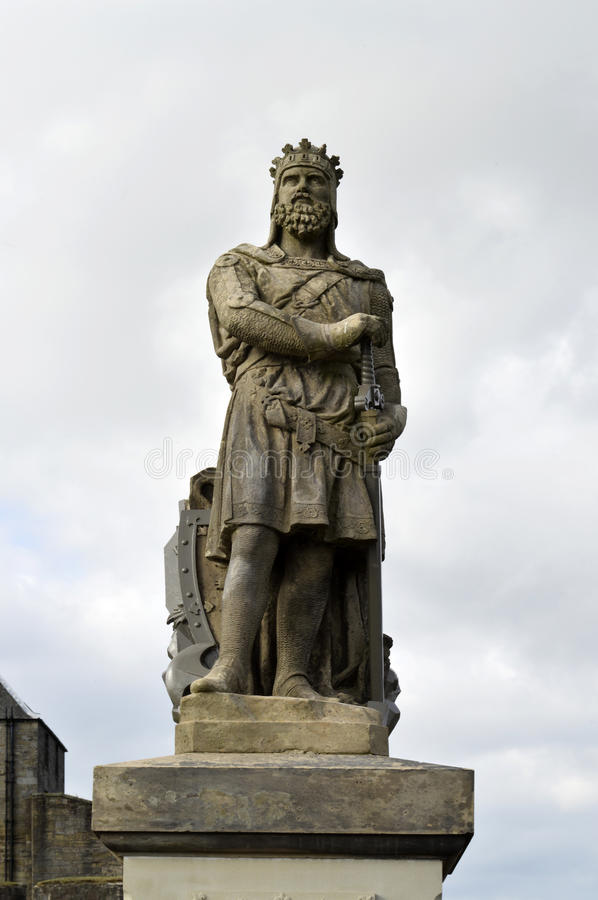 Robert the Bruce stock photography