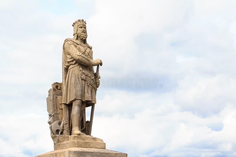Robert Brucen, konung av Scots royaltyfri foto