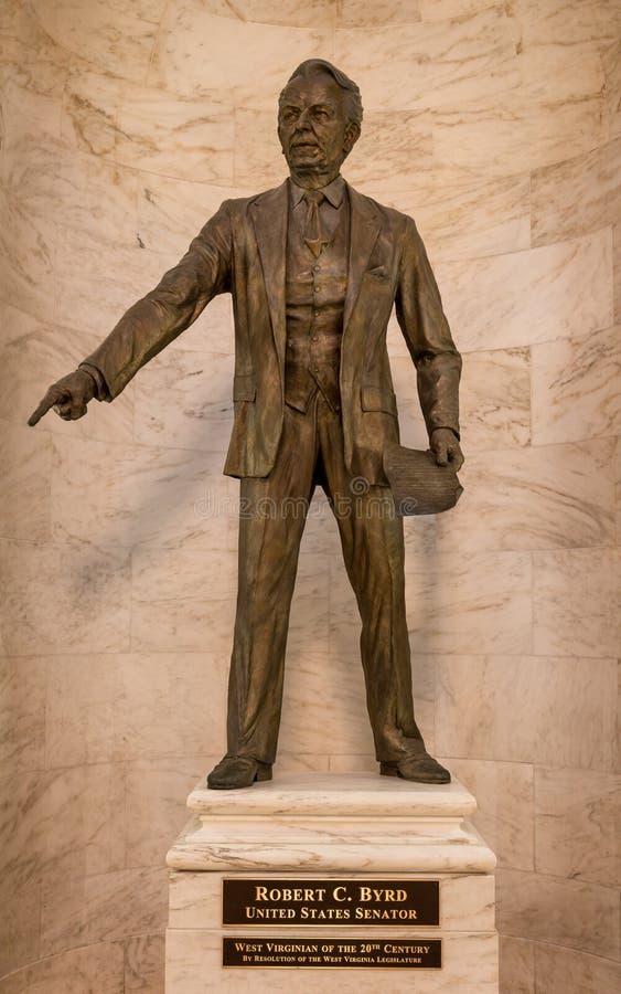 Robert C Byrd statua fotografia royalty free