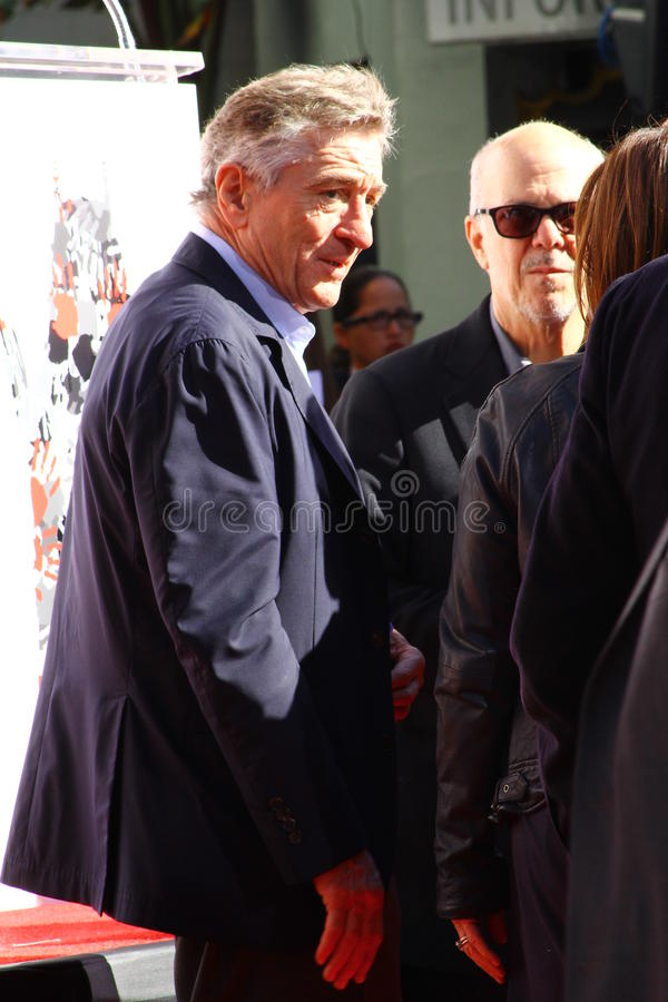 Robert De Niro royalty-vrije stock foto