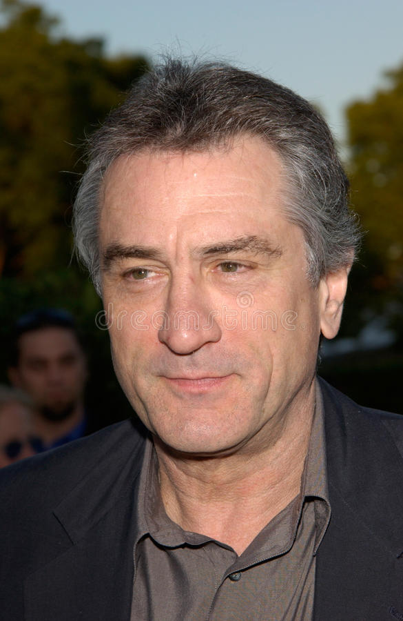 Robert De Niro fotografia stock