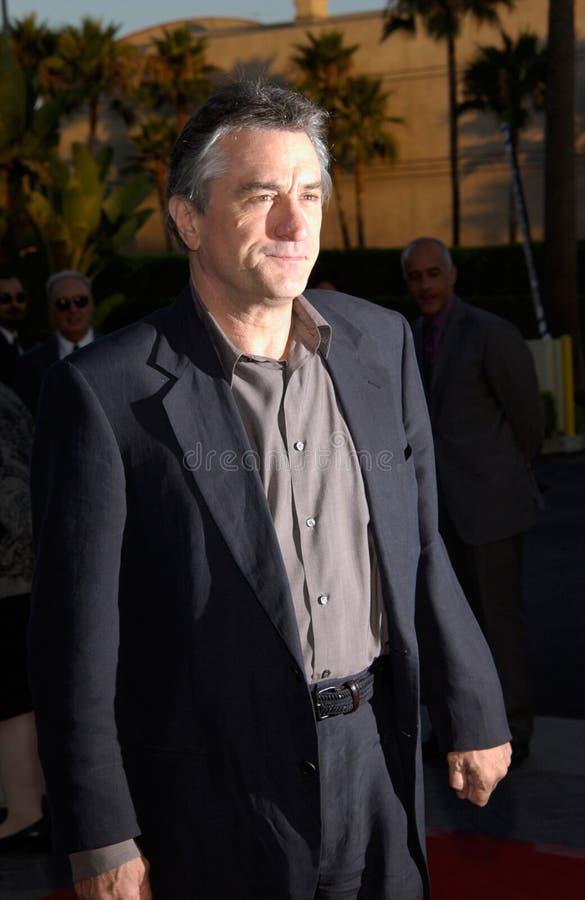 Robert De Niro royalty-vrije stock foto's