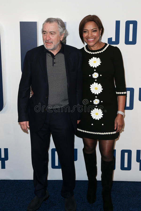 Robert de Niro, Grace Hightower στοκ εικόνες
