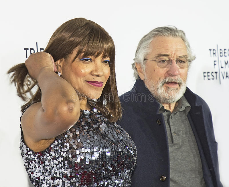 Robert DeNiro e tolleranza Hightower immagine stock