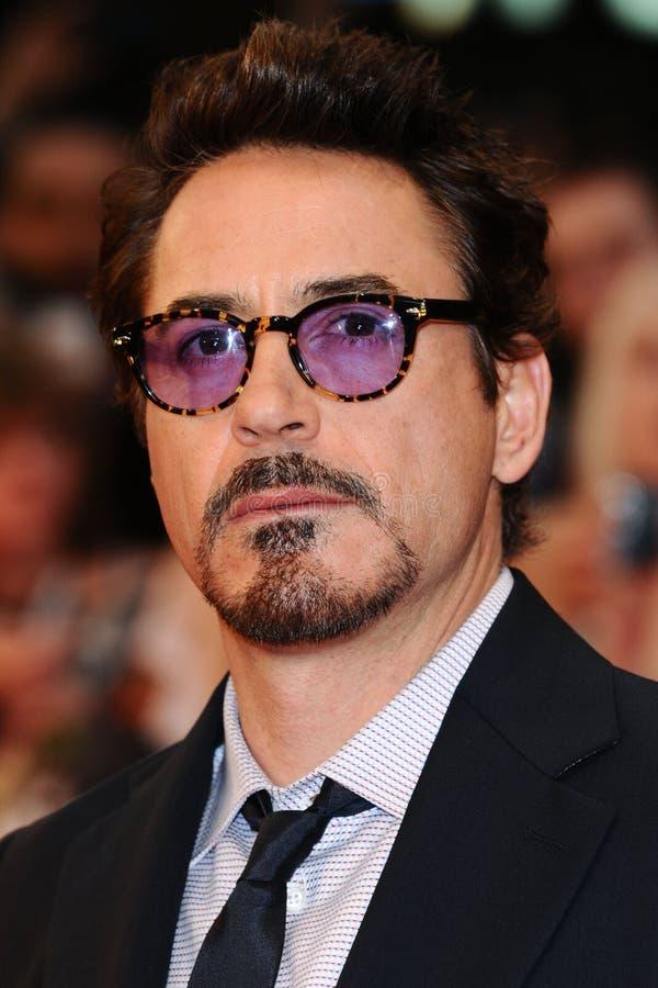 Robert Downey, Jr. stock afbeelding