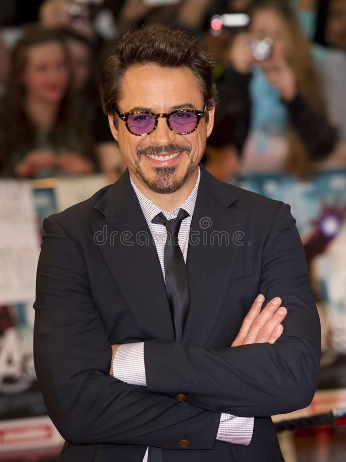 Robert Downey, JR image stock