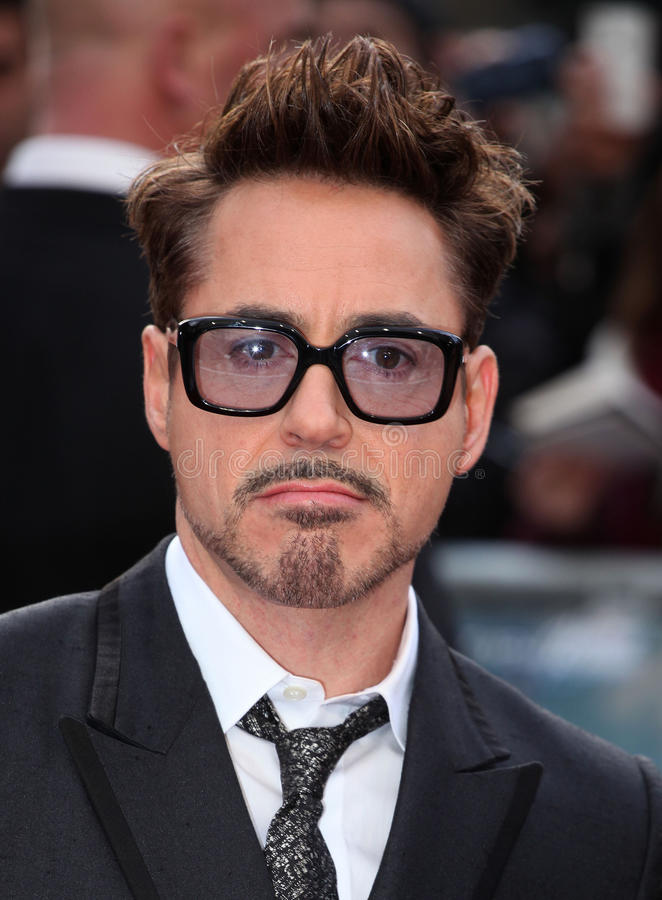 Robert Downey Jr στοκ φωτογραφία με δικαίωμα ελεύθερης χρήσης