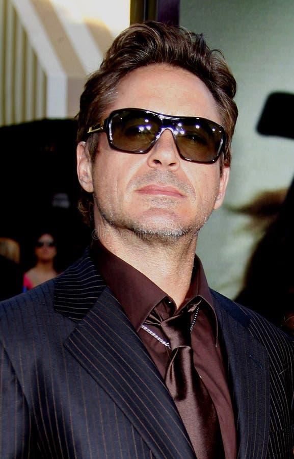 Robert Downey Jr image libre de droits